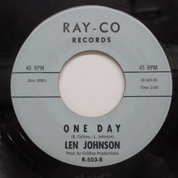 LEN JOHNSON - One Day / Sweet Thing (Block Logo)