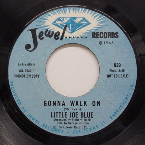 LITTLE JOE BLUE - Right There Where You Left It (Promo)
