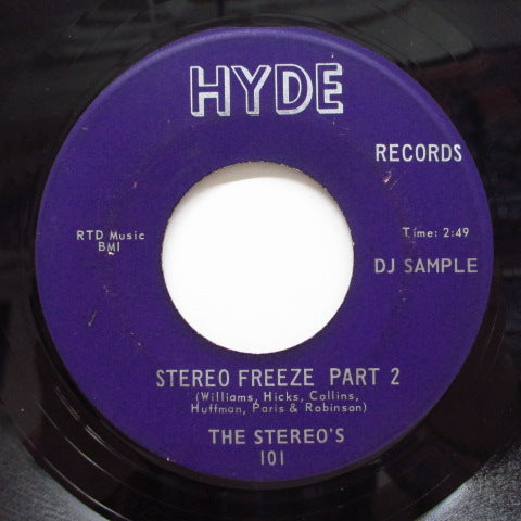 STEREOS - Stereo Freeze (Part 1 & 2) (Promo)