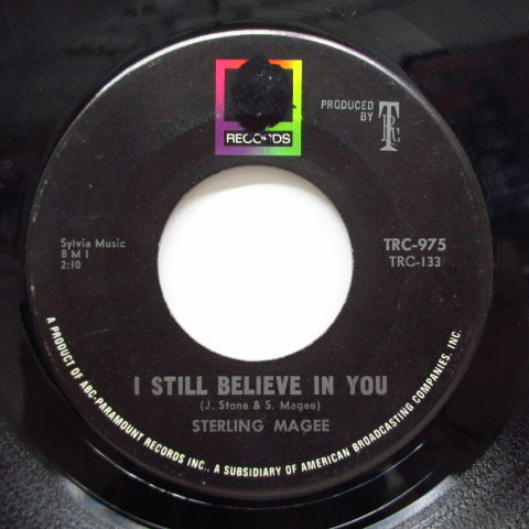 STERLING MAGEE - I Still Believe In You / Tighten Up