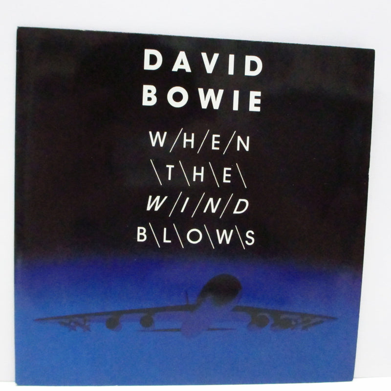 "DAVID BOWIE - When The Wind Blows (UK Orig.7""+Glossy PS)"