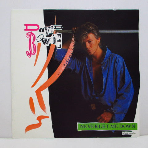 "DAVID BOWIE - Never Let Me Down (UK Orig.7""+PS)"