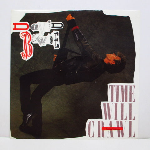 "DAVID BOWIE - Time Will Crawl (UK Orig.7""+PS)"