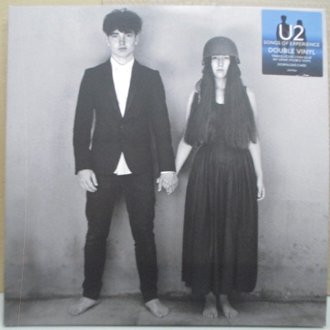 U2 - Songs Of Experience (US-EU Orig.180g Blue Vinyl 2xLP/Stickered GS)