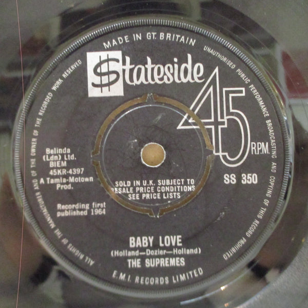 "SUPREMES - Baby Love (UK Orig.7"")"