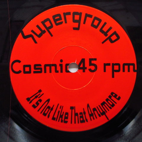 "SUPERGROUP - S.T. (US Orig.7"")"