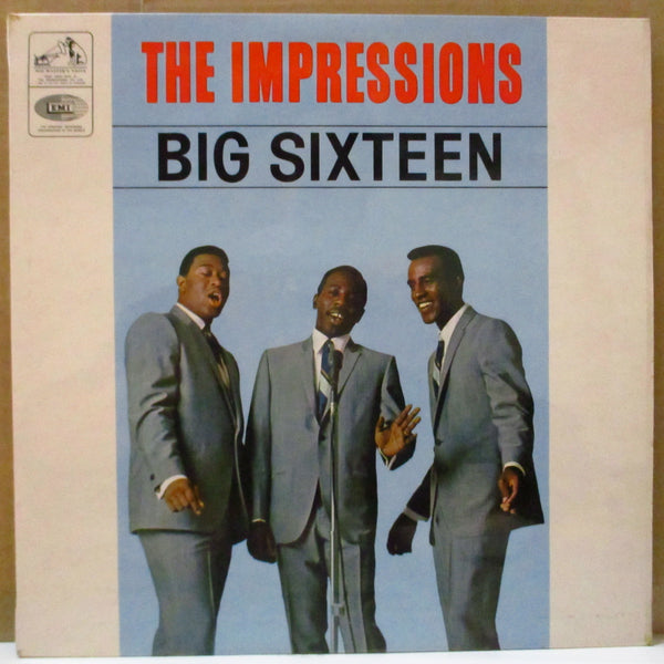 IMPRESSIONS (インプレッションズ)  - Big Sixteen (UK Export Stereo LP/CS)