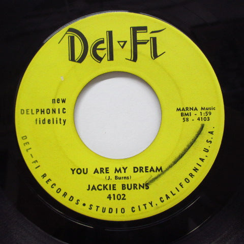 JACKIE BURNS - Hey Then, There Now (Orig)