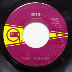 TERRY JOHNSON (テリー・ジョンソン)  - Suzie / What'cha Gonna Do (Orig)