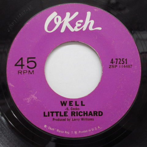 LITTLE RICHARD - Poor Dog / Well (Orig)