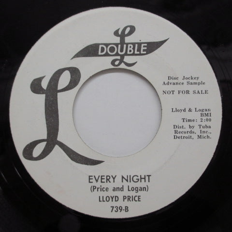 LLOYD PRICE - Every Night (Promo)