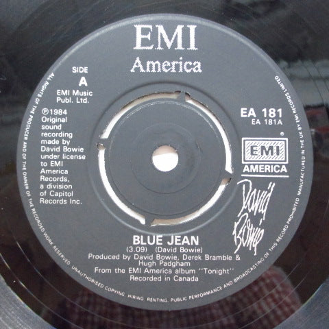 DAVID BOWIE - Blue Jean (UK Orig.Black Label)