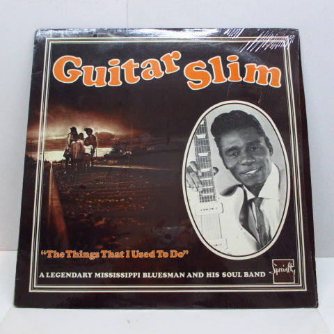 GUITAR SLIM - The Things That I Used To Do (US '88 Reissue)