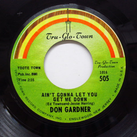 DON GARDNER - Ain't Gonna Let You Get Me Down (Orig)