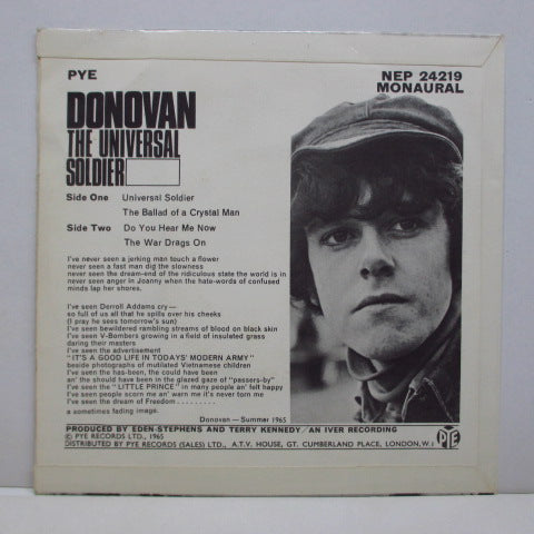 DONOVAN - The Universal Soldier (UK Orig.EP)