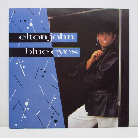 ELTON JOHN - Blue Eyes (UK Orig+PS)