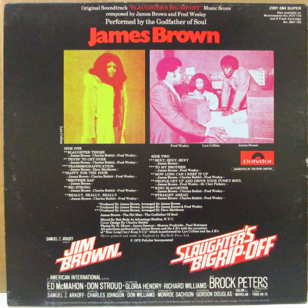 JAMES BROWN (ジェイムス・ブラウン)  - Slaughter's Big Rip-Off (UK Orig.Stereo LP)