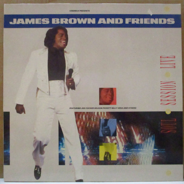 JAMES BROWN & FRIENDS (ジェイムス・ブラウン & フレンズ)  - Soul Session Live (Dutch Orig.Stereo LP)