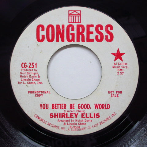 SHIRLEY ELLIS - One Sour Note (Promo)