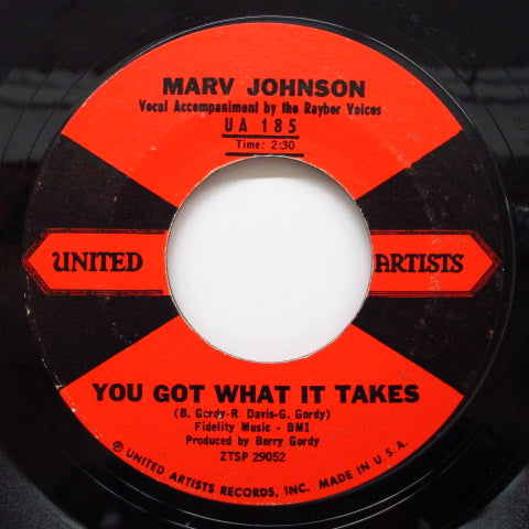 MARV JOHNSON - You Got What It Takes / Don't Leave Me