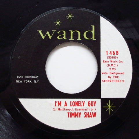 TIMMY SHAW (ティミー・ショウ)  - I'm A Lonely Guy ('64 Reissue/Wand-146)