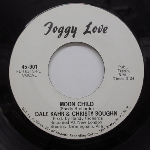 DALE KAHR & CHRISTY BOUGHN - Black Is Black (US Promo)
