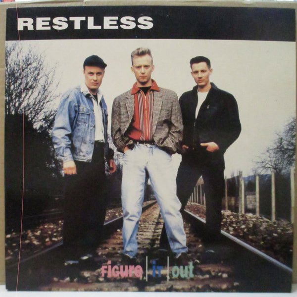 RESTLESS (レストレス)  - Figure It Out (Japan Orig.LP/No Poster)