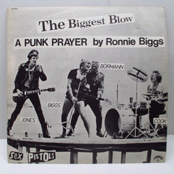 "SEX PISTOLS - The Biggest Blow A Punk Prayer By Ronnie Biggs (OZ Clear Vinyl 12"")"