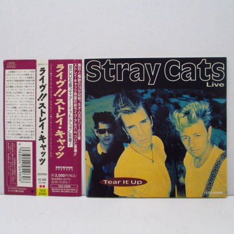 STRAY CATS - Live!! Tear It Up (Japan Orig.CD)