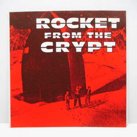 "ROCKET FROM THE CRYPT - Yum Kippered (Italy Orig.Black Vinyl 7"")"