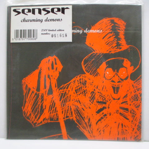 "SENSER - Charming Demons (UK Ltd.7""/Poster PS)"