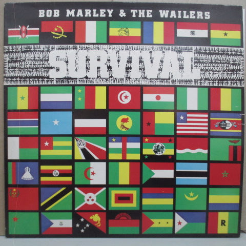 BOB MARLEY & THE WAILERS - Survival (UK Orig.LP)