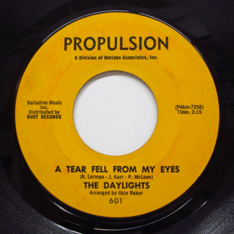 DAYLIGHTS - Billy Is The Boy (Orig.Orange Label)