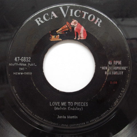 JANIS MARTIN - Love Me To Pieces (Orig)