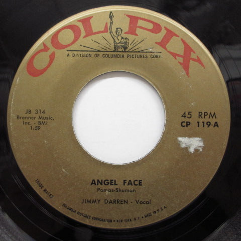 JAMES DARREN (JIMMY DARREN) - Angel Face / I Don't Wanna Lose Ya (Orig)