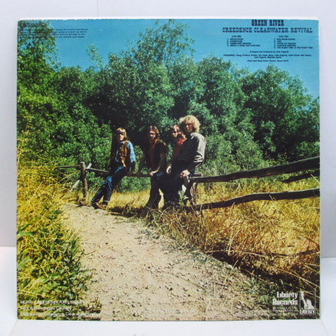 CREEDENCE CLEARWATER REVIVAL (CCR) - Green River (UK Orig.Stereo)