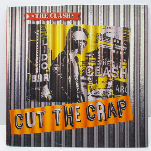 CLASH, THE - Cut The Crap (UK Orig.LP/Orange Title CVR)