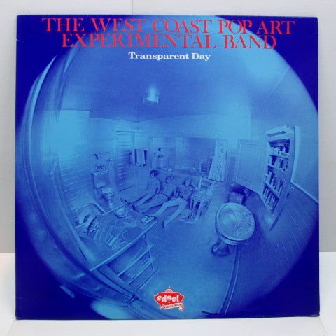 WEST COAST POP ART EXPERIMENTAL BAND - Transparent Day (UK Orig.LP)