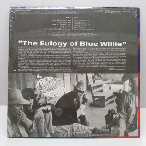WILLIE AND THE RED RUBBER BAND - Willie And The Red Rubber Band (1st) (US Orig.LP)