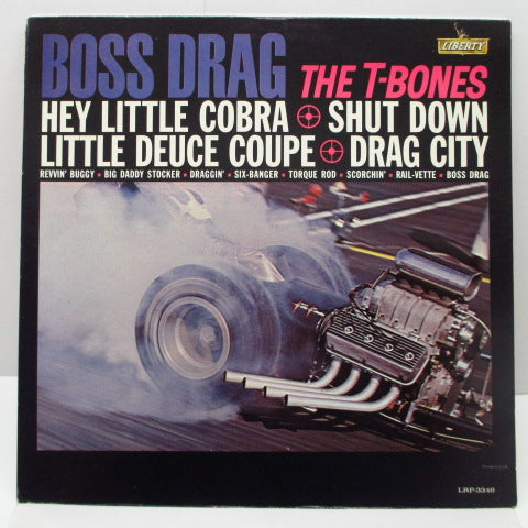 T-BONES - Boss Drag (US Orig.Mono LP)