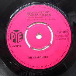 SEARCHERS - What Have They Done To The Rain? (UK Orig.Round Center)