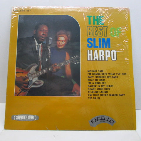 SLIM HARPO - The Best Of Slim Harpo (US 70's Reissue)