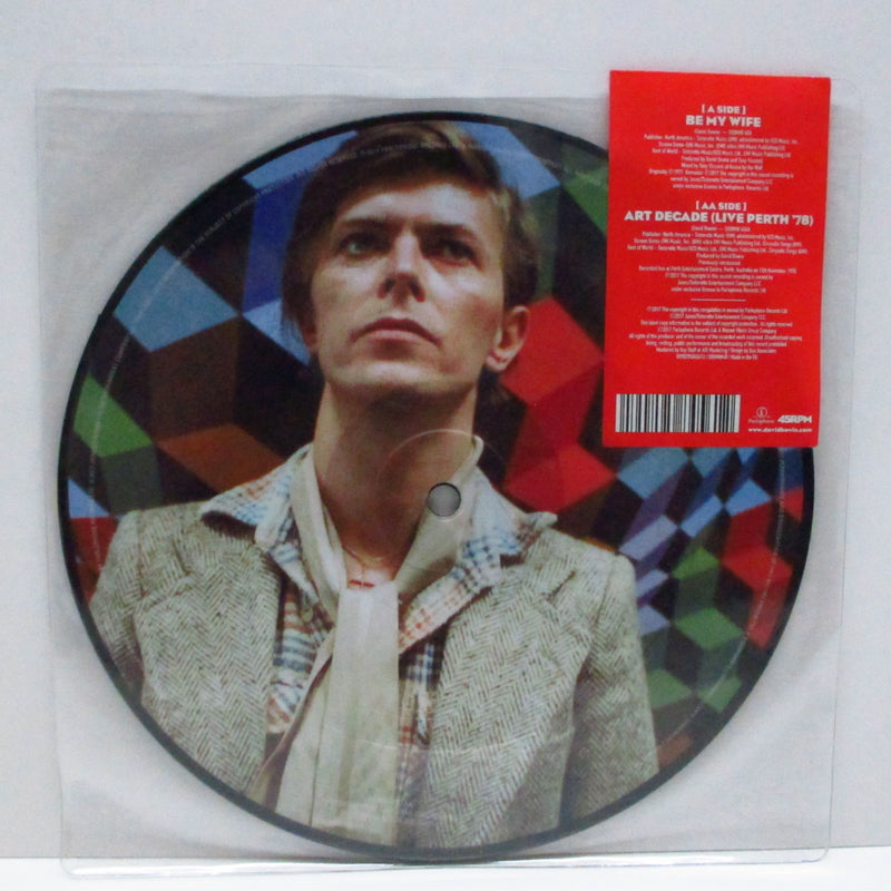 "DAVID BOWIE - Be My Wife (UK-EU '17 Ltd.Picture 7""+Stickered PVC)"