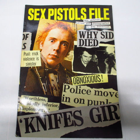 SEX PISTOLS - Sex Pistols File (UK Reprint Book)