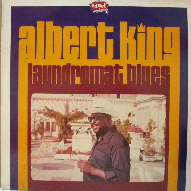 ALBERT KING (アルバート・キング)  - Laundromat Blues (UK Orig.LP)