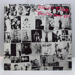 ROLLING STONES - Exile On Main St. (UK 80's Re 2xLP/Stickered Barcode Single CVR)