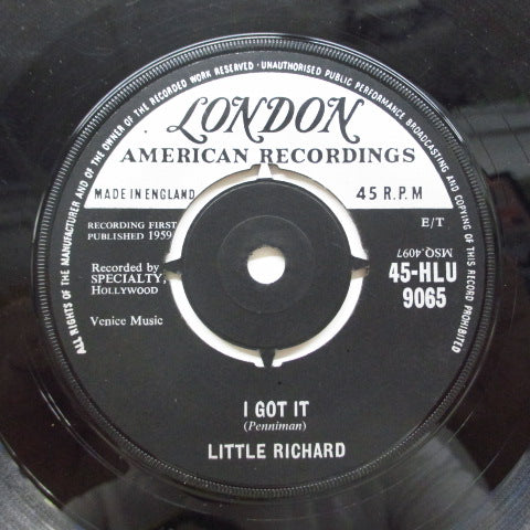 LITTLE RICHARD - I Got It / Baby (UK Orig)