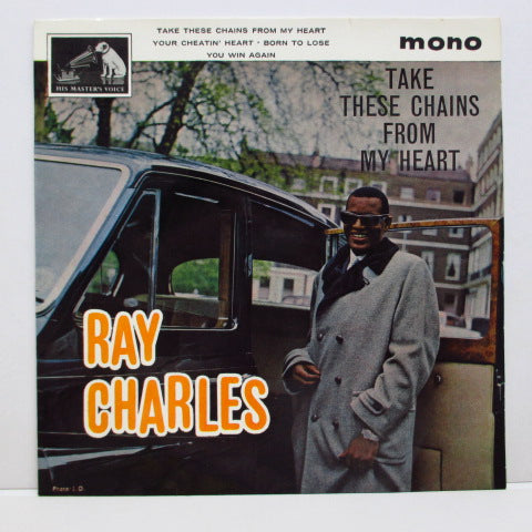 RAY CHARLES - Take These Chains From My Heart +3 (UK Orig.EP/CFS)