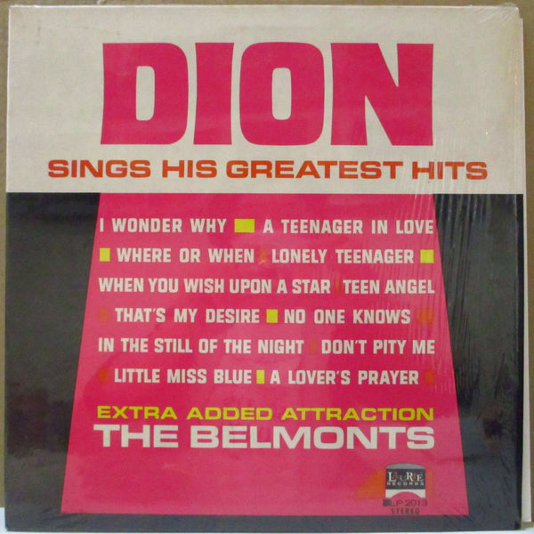 DION   (ディオン)  - Sings His Greatest Hits (US 70's Reissue Flexi VInyl Stereo LP)