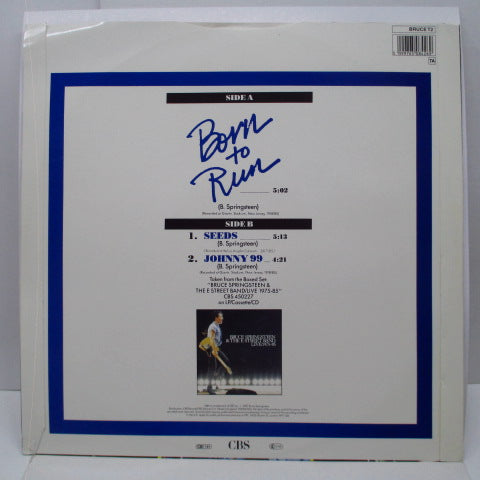 "BRUCE SPRINGSTEEN & The E Street Band (ブルース・スプリングスティーン)  - Born To Run Live +2 (UK Orig.12"")"